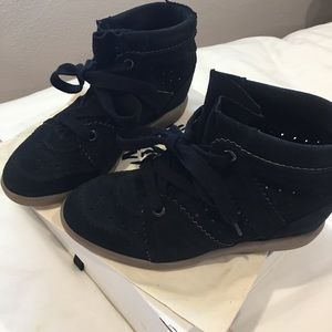 Authentic Isabel Marant black Bobby sneaker!